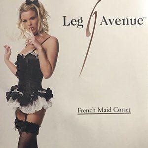 French Maid Corset Halloween Costume